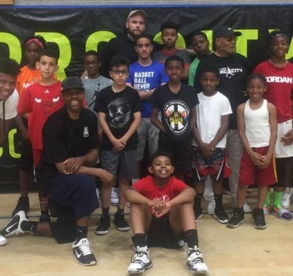 FORMER NBA PLAYER, SCOTT MACHADO SPEAKS TO LOCAL YOUTH