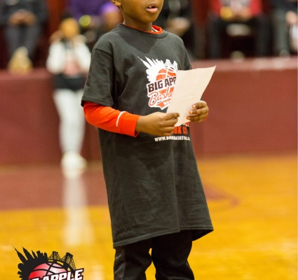 7-YEAR OLD ANNOUNCES STARTING LINEUP AT BAB INVITATIONAL