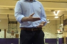 WATCH VIDEO: ESPN REPORTER, IAN BEGLEY SPEAKS AT BAB WORKOUT