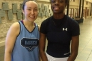 JESSICA DULEBA AND FRANCESS HENRY RACK UP MVP AWARDS!!